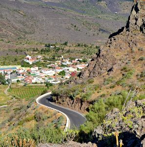 Road Santiago del Teide Cycling in Tenerife bike tour
